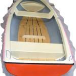 Sklolaminátová loďka