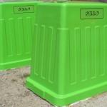 nádoby na separáciu odpadu - príprava